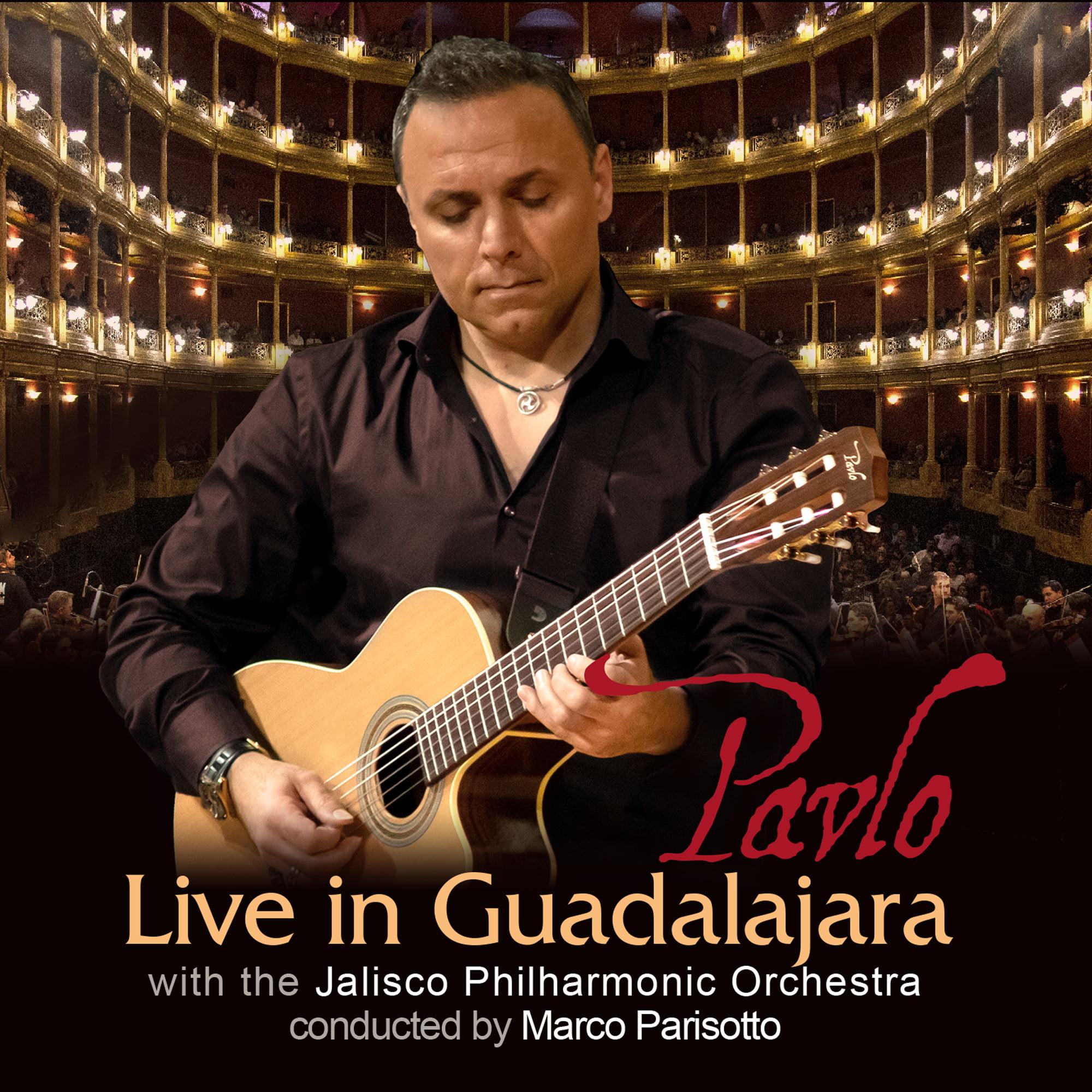 "New CD & DVD ""Live in Guadalajara w/ Jalisco Philharmonic Orchestra"